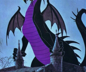 disney, dragon, and sleeping beauty image