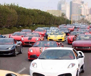 car, Dubai, and red image