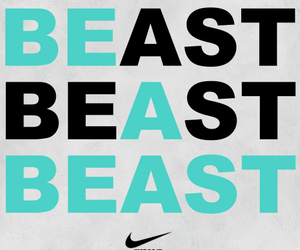 nike, beast, and fitness image