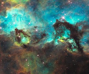 galaxy, stars, and space image