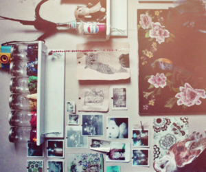 room, vintage, and photo image