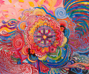 art and psychedelic image