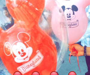 balloons, best friends, and disneyland image
