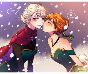 frozen and elsanna image