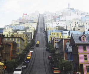 california, color, and san fransisco image