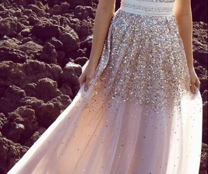 dress and glitter image