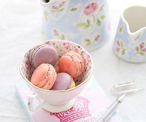 macaroons, sweet, and macarons image