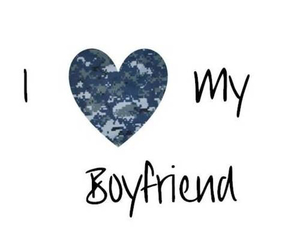 army, long distance, and boyfriend image