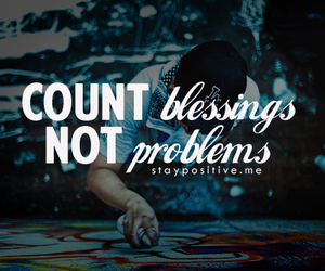 count, problems, and blessings image