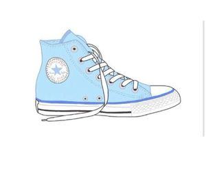 converse, blue, and transparent image