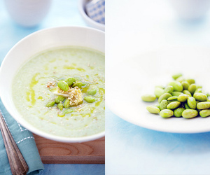 edamame, healthy, and natural image