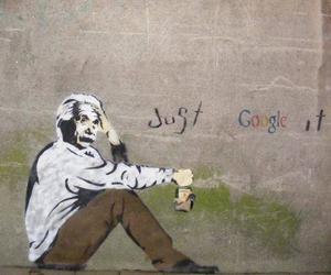 google, einstein, and Albert Einstein image