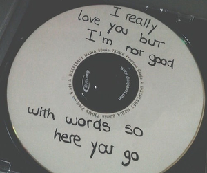 love, music, and cd image