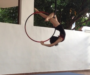 aerial hoop and circus image