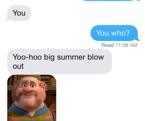 frozen, funny, and text image