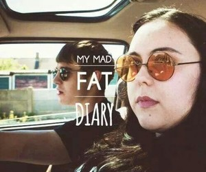 couple, love, and my mad fat diary image