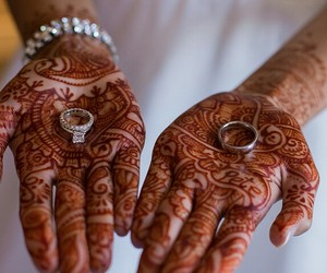henna and wedding image