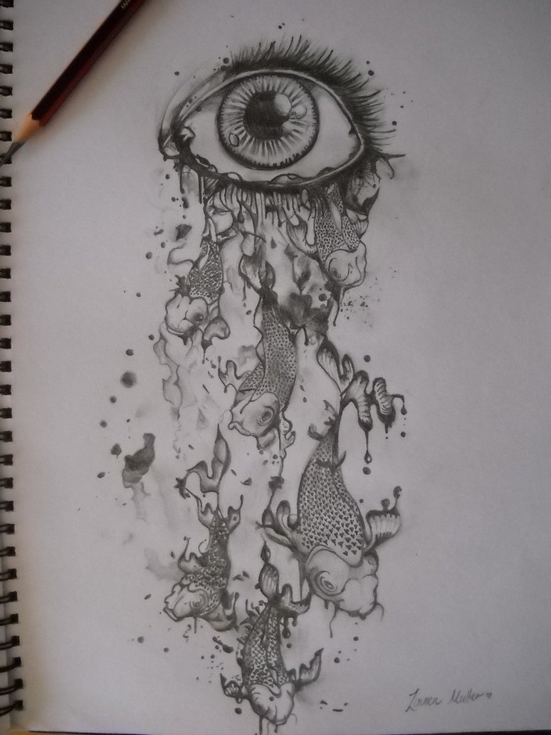Image About Black In Dark Drawing By Stella On We Heart It