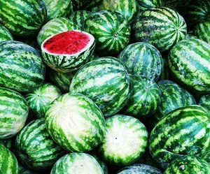 green, photo, and watermelon image