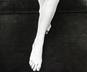 black white and legs image