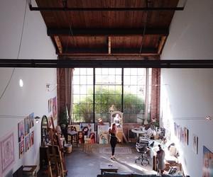 art, painting, and studio image