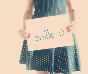 smile and dress image