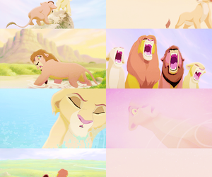 Collage, disney, and the lion king image