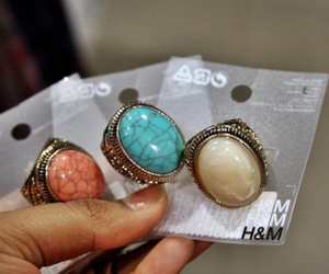 fashion, rings, and H&M image