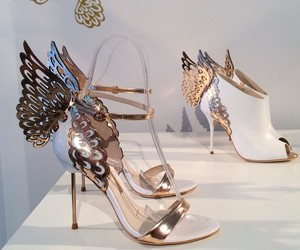 shoes, butterfly, and fashion image