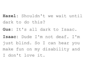 isaac, Shailene Woodley, and augustus waters image