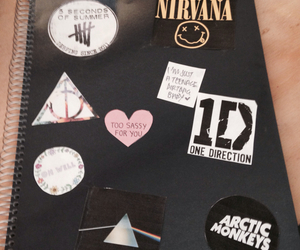 harry potter, nirvana, and Pink Floyd image