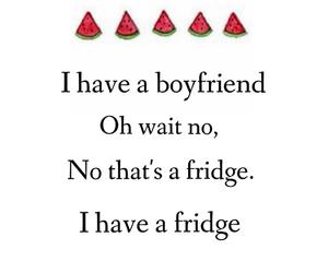 boyfriend, food, and fridge image