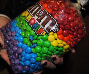 m&m's, m&m, and food image