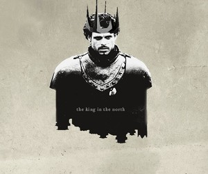 robb stark, got, and game of thrones image
