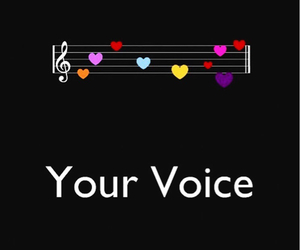voice, love, and music image