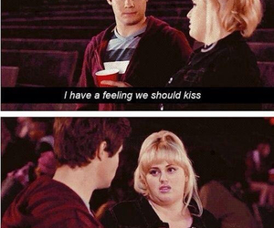 pitch perfect, funny, and kiss image