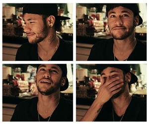 neymar, smile, and football image