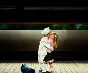 kiss, love, and cute image