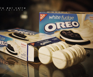 oreo, food, and white image