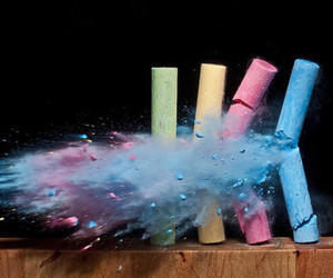 chalk and photography image