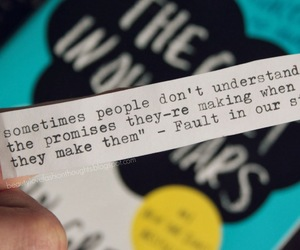 john green, people, and promises image