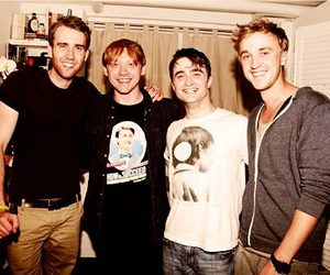 tom felton, harry potter, and rupert grint image