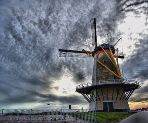 cielo, clouds, and holland image