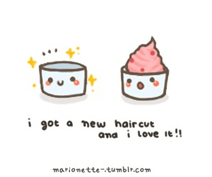 cute, kawaii, and cupcake image