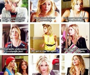 pll, pretty little liars, and hanna marin image