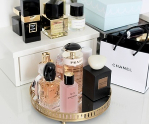 chanel, Prada, and perfume image