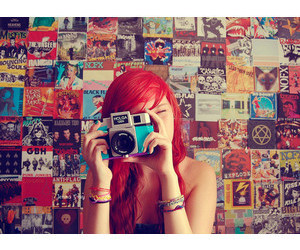 photography, red, and cute image