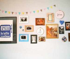 photography, vintage, and wall image