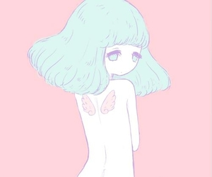 angel, anime, and pastel image