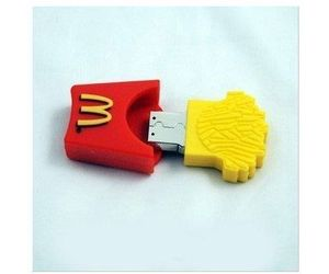 McDonalds, usb, and French Fries image
